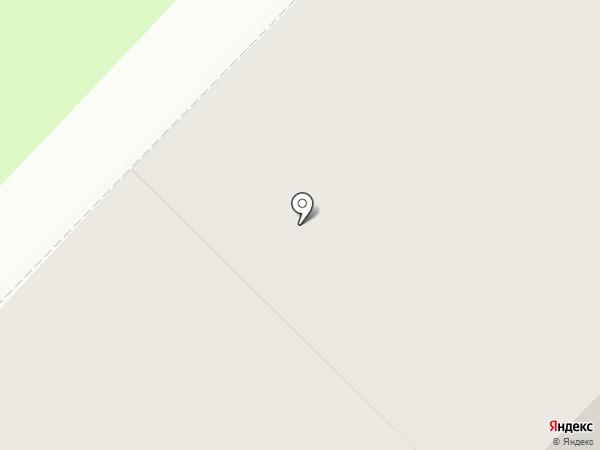 Полярник на карте Мурманска