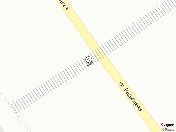 Магазин мяса на карте Мурманска