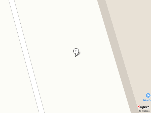 Авилон на карте Мурманска