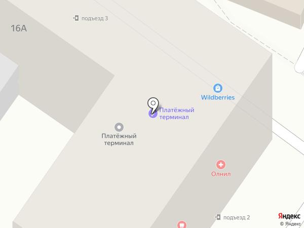 .Яндекс.Такси на карте Южного