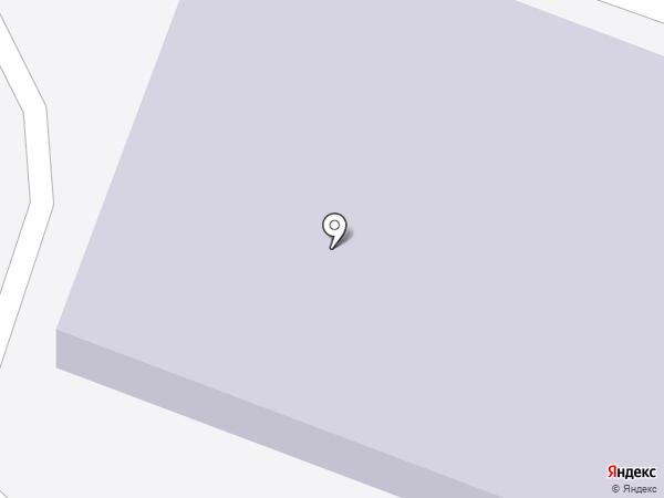 Отрадненская средняя общеобразовательная школа на карте Отрадного