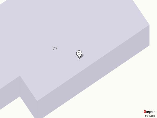 Средняя общеобразовательная школа №53 на карте Брянска