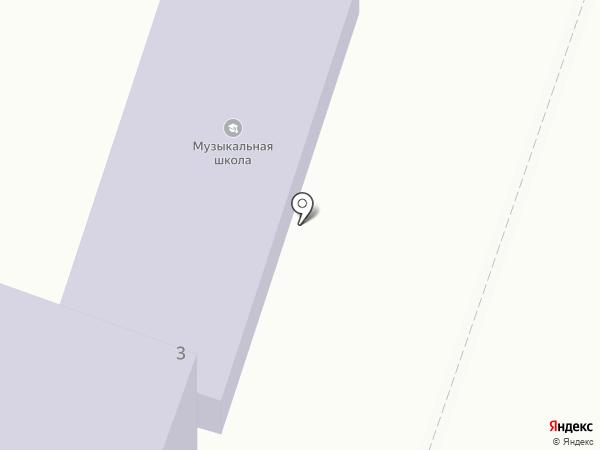 Мичуринская детская школа искусств им. М.В. Шевердина на карте Мичуринского