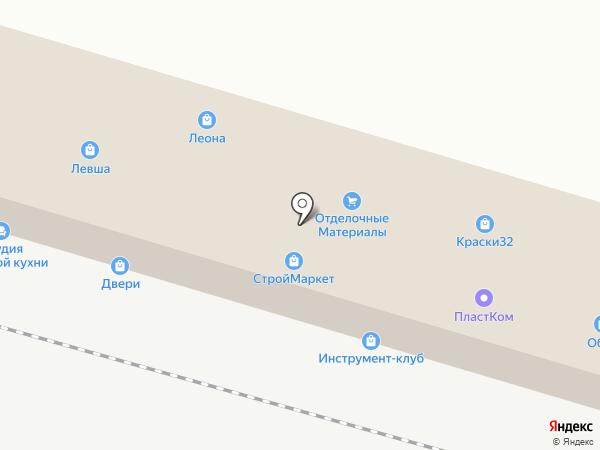Мебельный магазин Ермишкина С.В. на карте Брянска