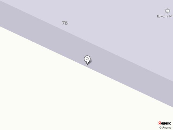 Средняя общеобразовательная школа №22 на карте Брянска
