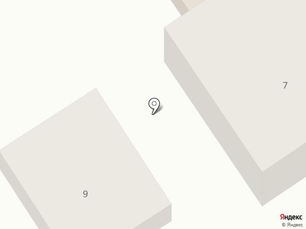 Кузовное ателье на карте Брянска