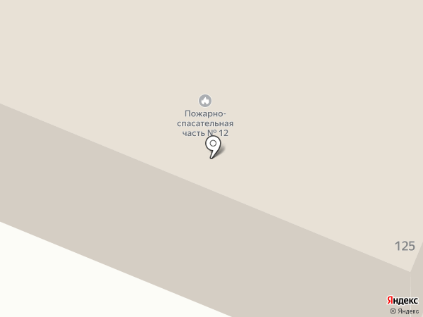 Пожарная часть на карте Брянска