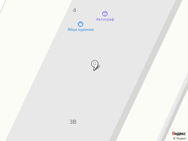Автографф на карте Брянска