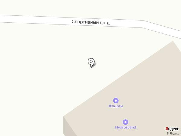 КТК-РТИ на карте Петрозаводска