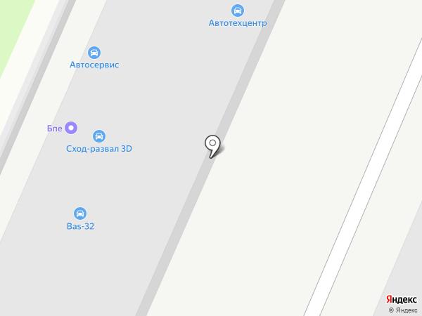 Зевс на карте Брянска