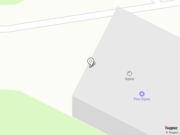 Арно, ЗАО на карте Брянска