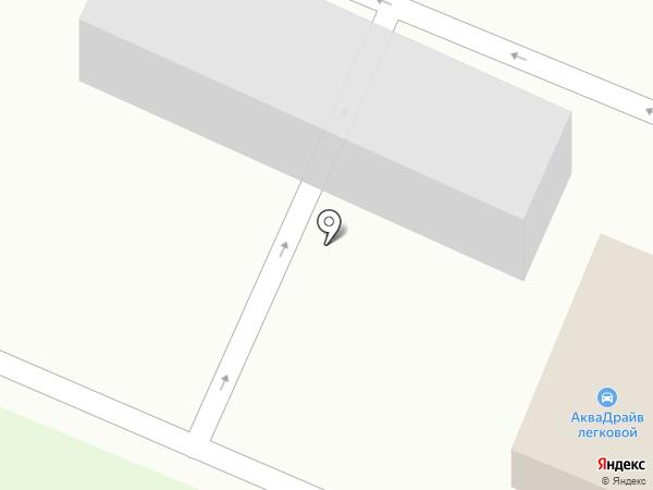 Аква-Драйв на карте Брянска