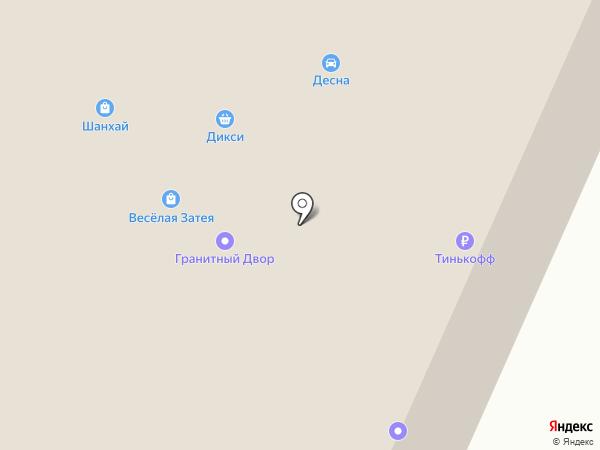 Автоцентр на Литейной на карте Брянска