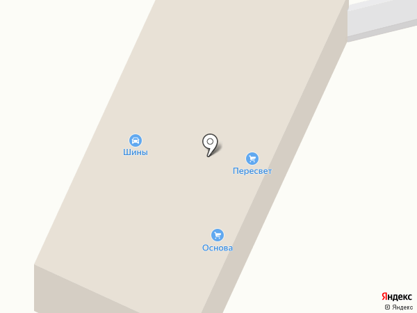 Шины на Литейной на карте Брянска