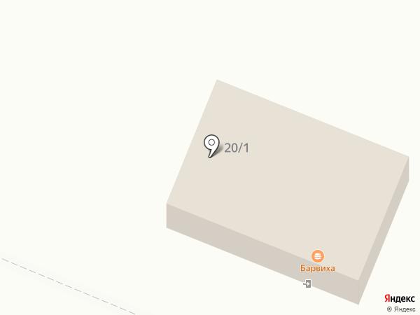 Барвиха на карте Брянска