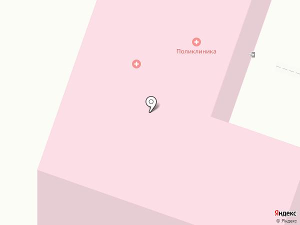 Брянская городская поликлиника №1 на карте Брянска