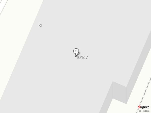 Альвида на карте Брянска