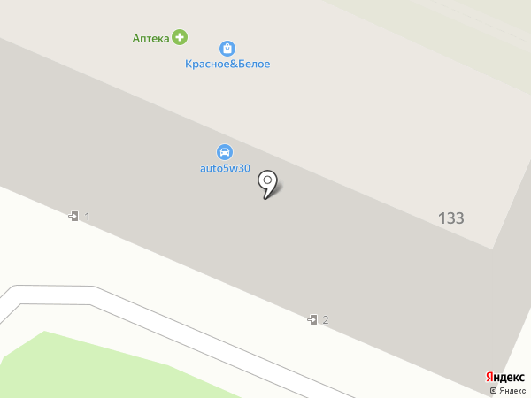 Магазин автозапчастей для отечественных автомобилей на карте Брянска