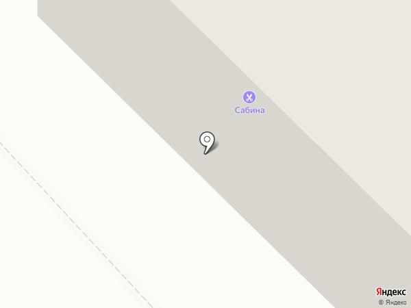 Сабина на карте Петрозаводска