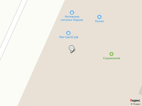 Магазин корпусной мебели на карте Брянска