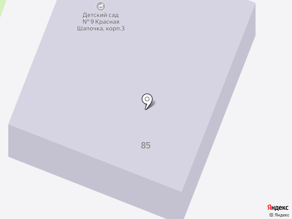 Детский сад №10, Веточка на карте Брянска