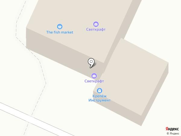 Светкрафт на карте Брянска