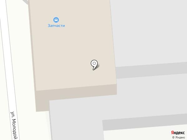 Гефест на карте Брянска