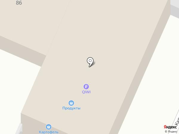 Продуктовый магазин на Болховской на карте Брянска