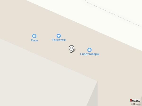 Спортивный город на карте Брянска