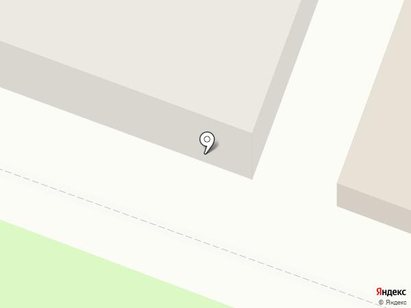 Брянская красавица на карте Брянска
