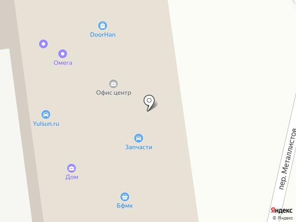 Авто-лайн на карте Брянска