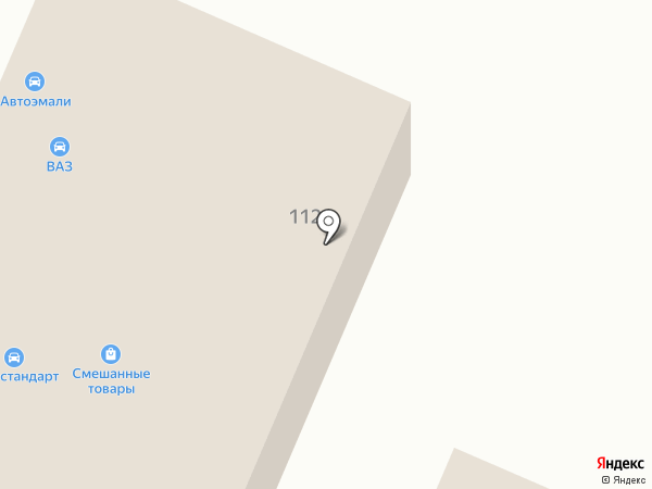 Автостандарт на карте Брянска