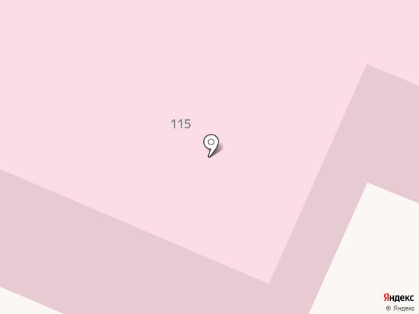 Брянская городская детская больница №1 на карте Брянска
