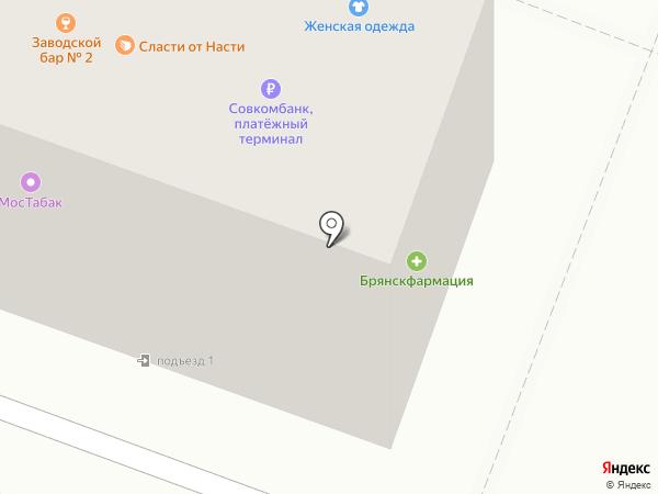 Getfloret.ru на карте Брянска