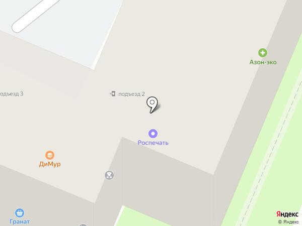 Бежица на карте Брянска