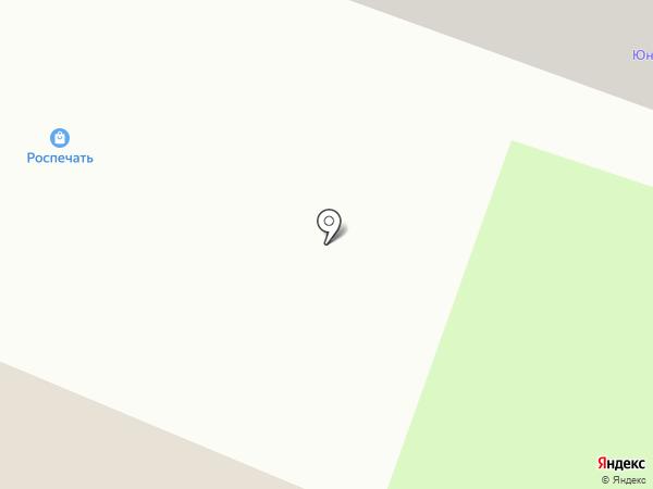 Киоск колбасных изделий на карте Брянска