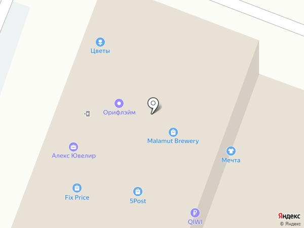 Сеть ювелирных мастерских на карте Брянска