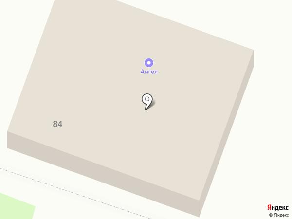 Ангел на карте Брянска