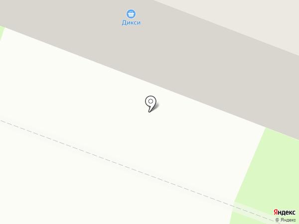 Дикси на карте Брянска