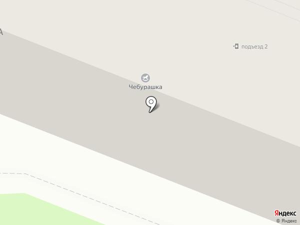 Проспект на карте Брянска