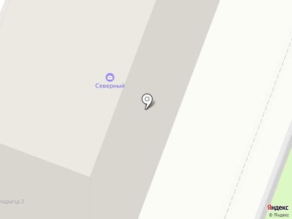 Северный на карте Брянска
