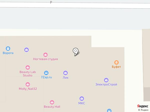 ДАНИЛА-МАСТЕР на карте Брянска