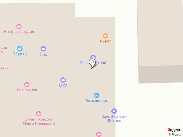Хаус Эксперт на карте Брянска