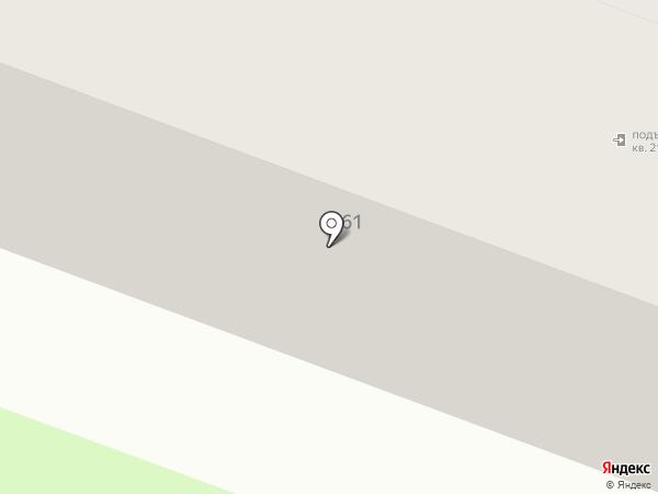 Камелия на карте Брянска