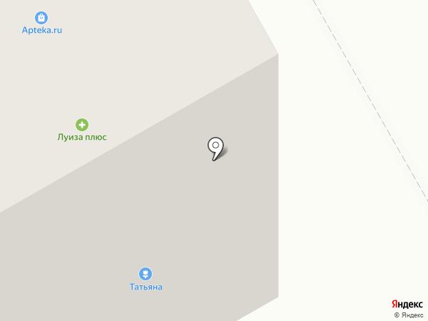 Татьяна на карте Петрозаводска