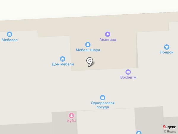 НИКС на карте Брянска