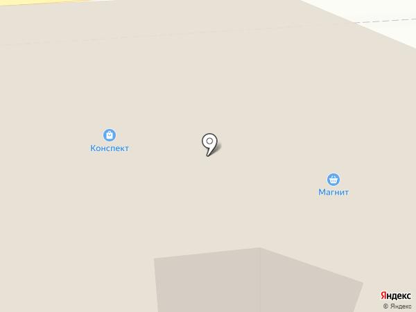Конспект на карте Брянска