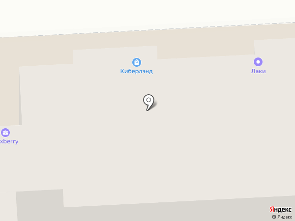 Зебра на карте Брянска