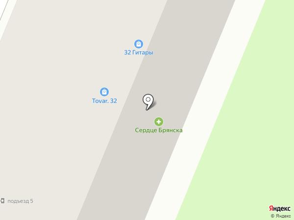 ИТ ПРОФИТ на карте Брянска