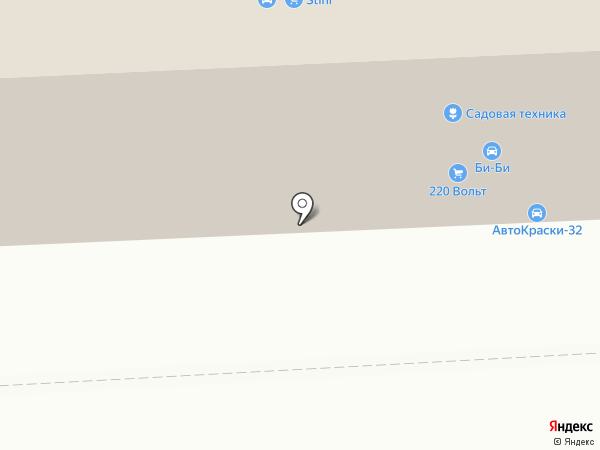 Ковровый рай на карте Брянска